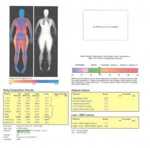 dexa scan lessons to leanness