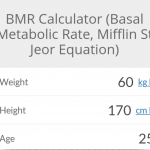 resting metabolic rate for fat loss