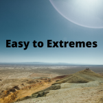 easy to extremes