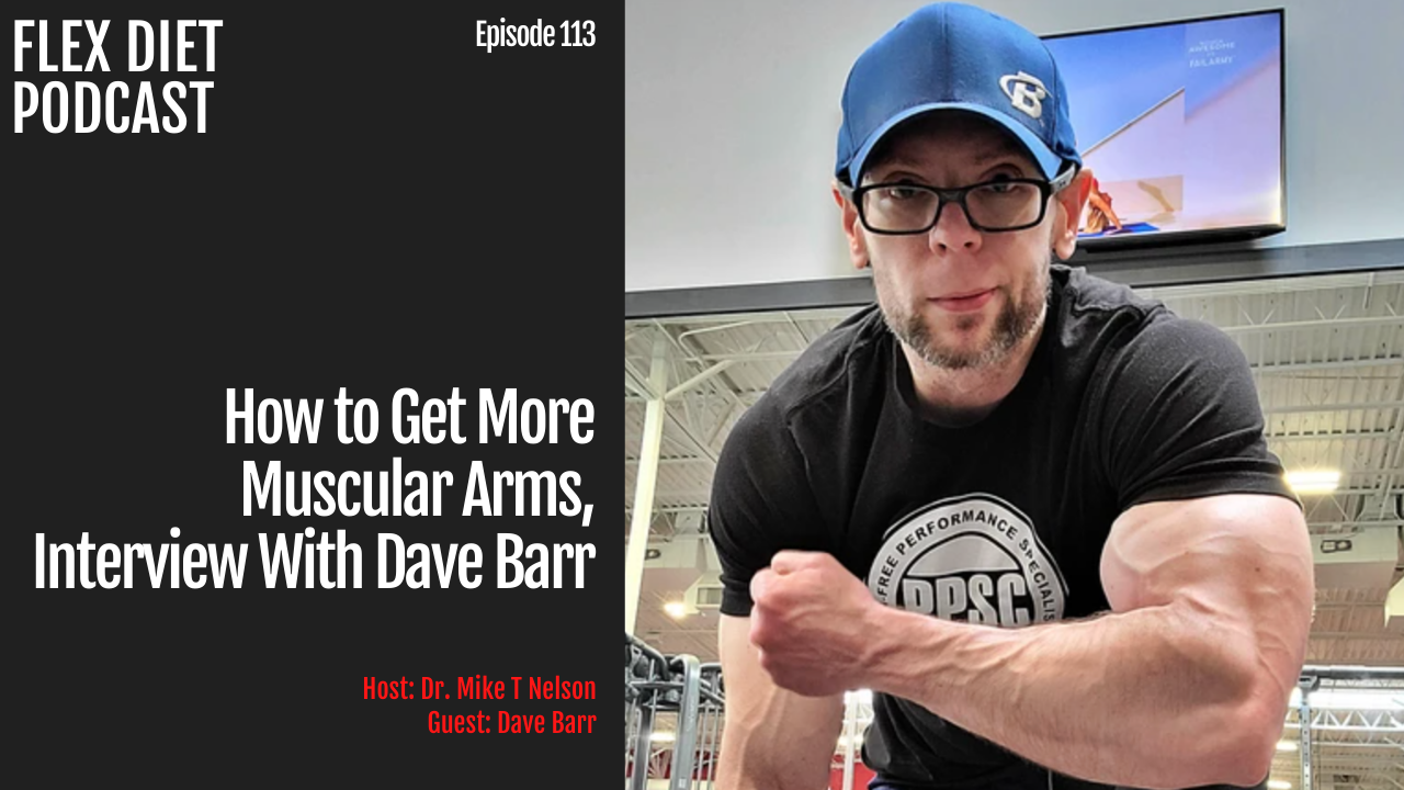 flex diet podcast with dave barr