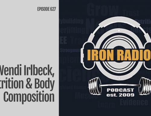 Episode 627 IronRadio Wendi Irlbeck, Nutrition & Body Composition